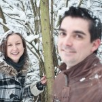 Foto-Shooting zu zweit im Winter