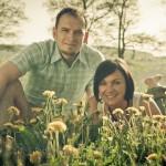 Foto-Shooting Bruder und Schwester