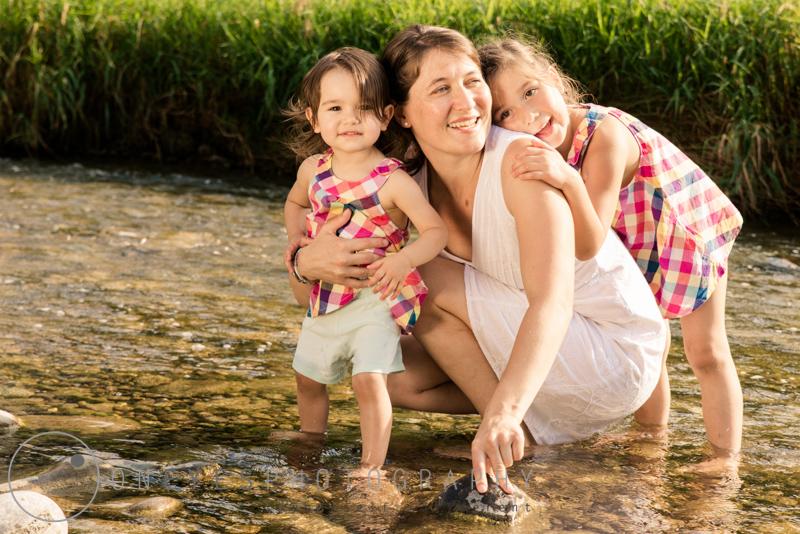 Familienfotos im Freien