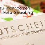 Geschenkidee Weihnachten Foto-Shooting