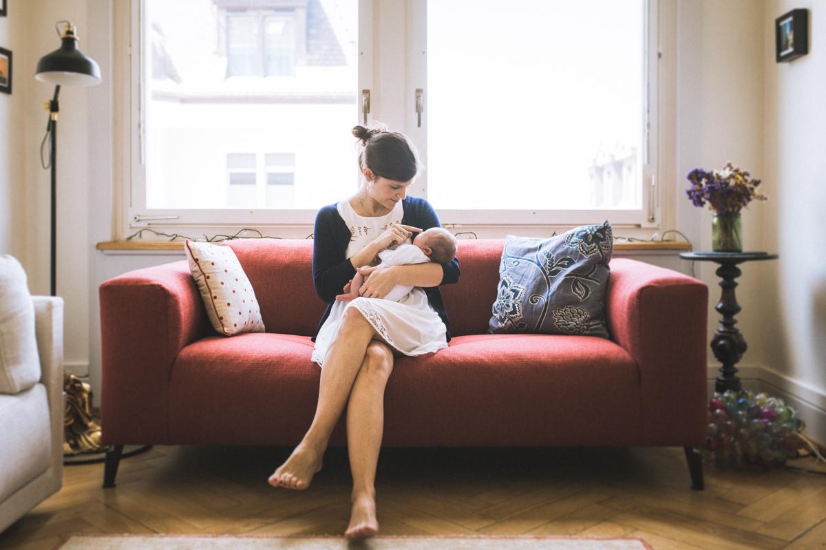 Zürich Neugeborenen Foto Shooting