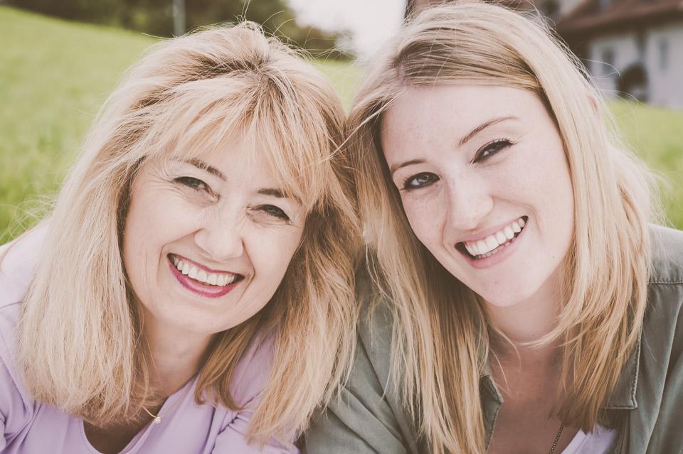 Foto-Shooting zu zweit mit Martina und ihrer Mama