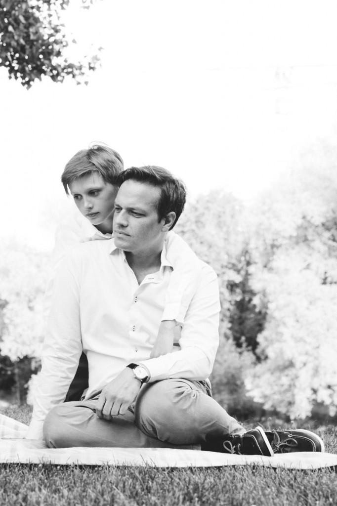 Portrait Vater und Sohn Zürich