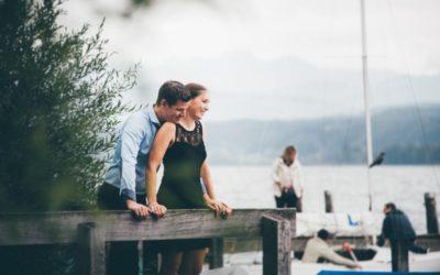 Foto-Shooting vor der Hochzeit am Greifensee