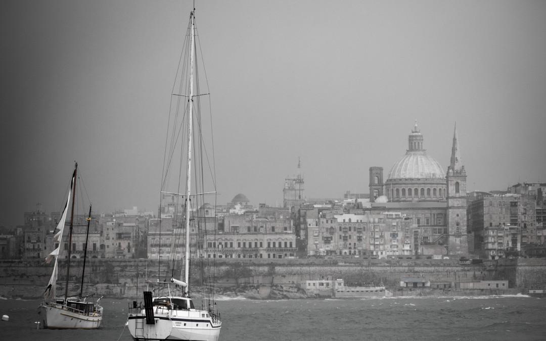 Postkarten von Malta. 2012