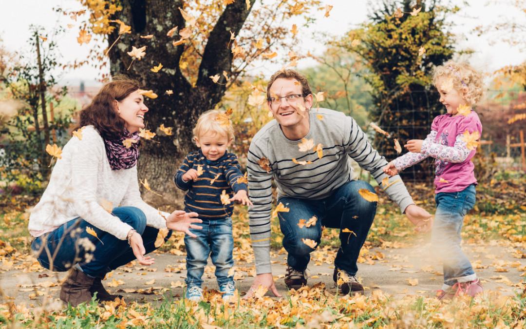 Herbstliche Familienfotos in Volketswil