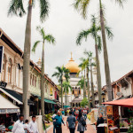 Gasse bei Arab Street, Singapur