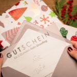 Geschenk Weihnachten Gutschein