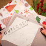 Geschenk Weihnachten Foto Shooting