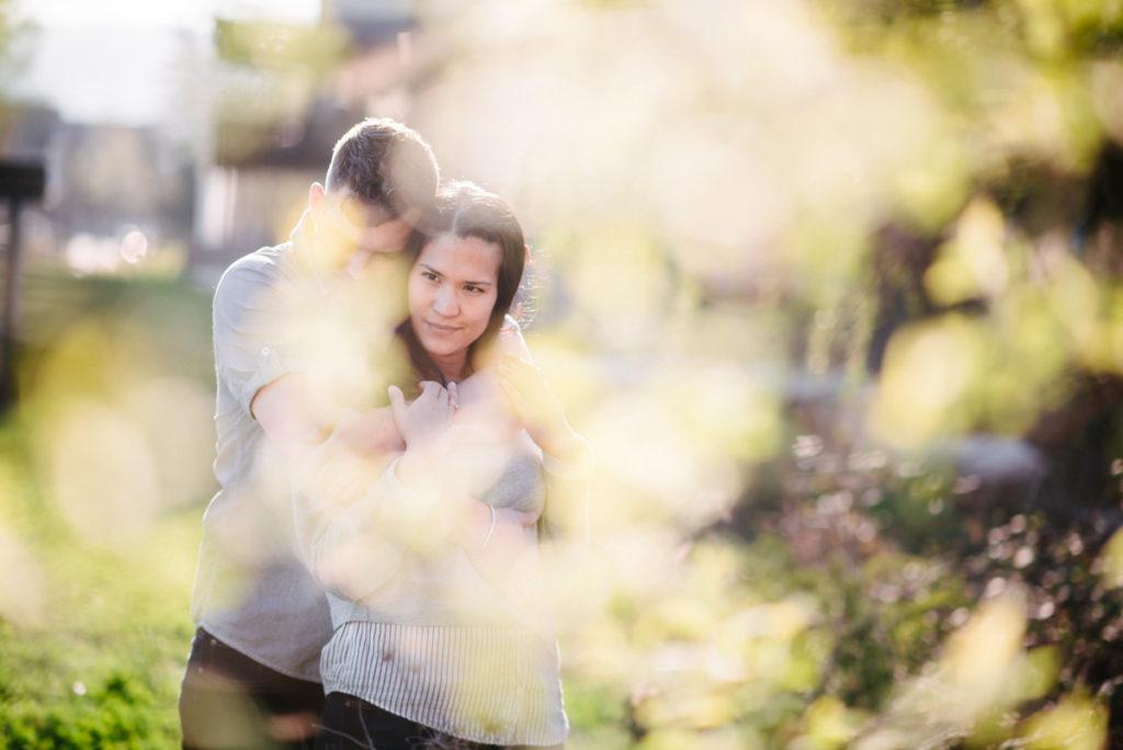 Verlobungsfotos Uster bei Zürich