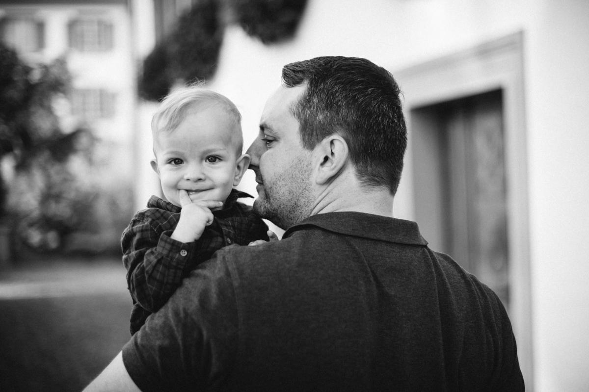 Foto Vater und Sohn