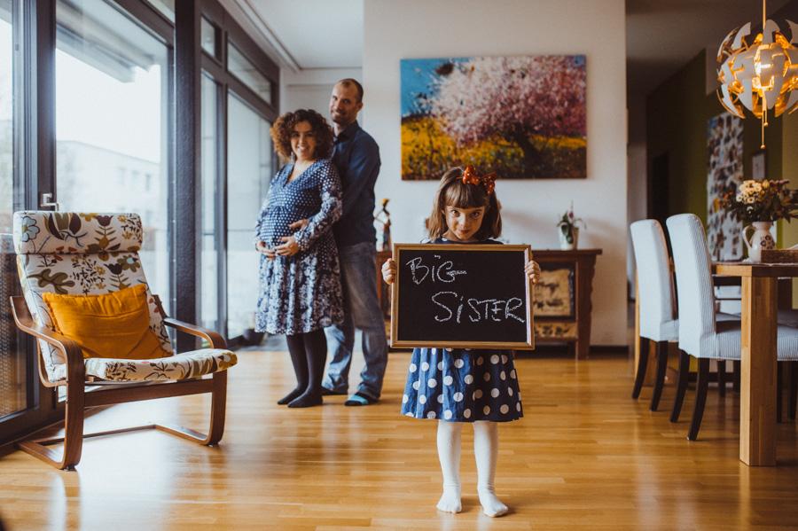 Babybauch Foto-Shooting in Zürich