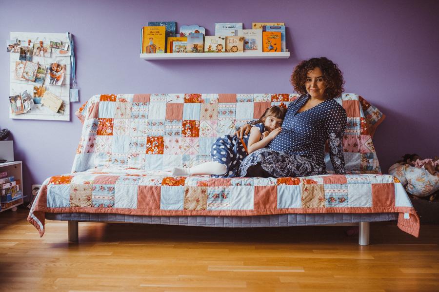 Familienfotos Babybauch