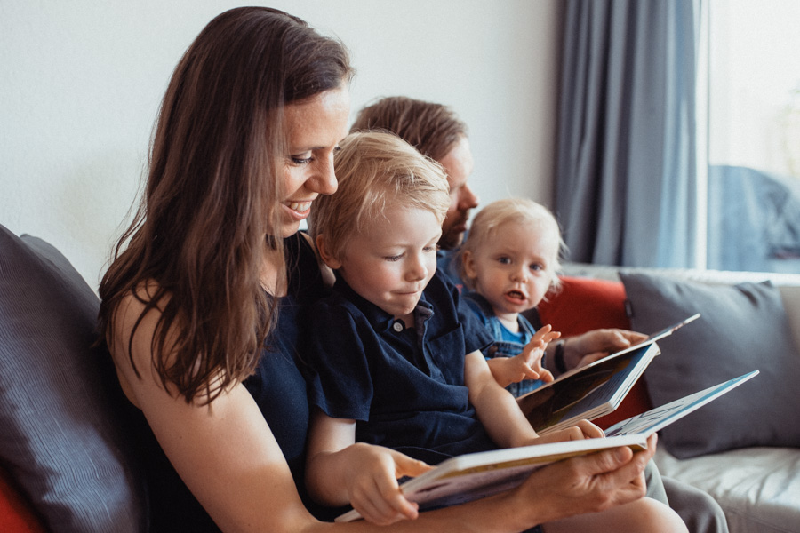 Familien Fotoshooting Gutschein