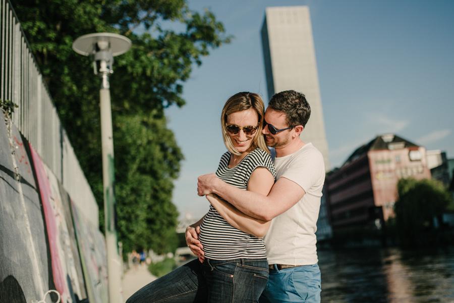 Zürich Fotoshooting Schwangerschaft Paare