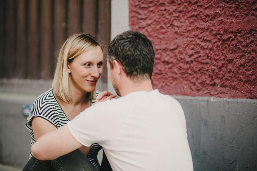 Strasse Fotoshooting Paare