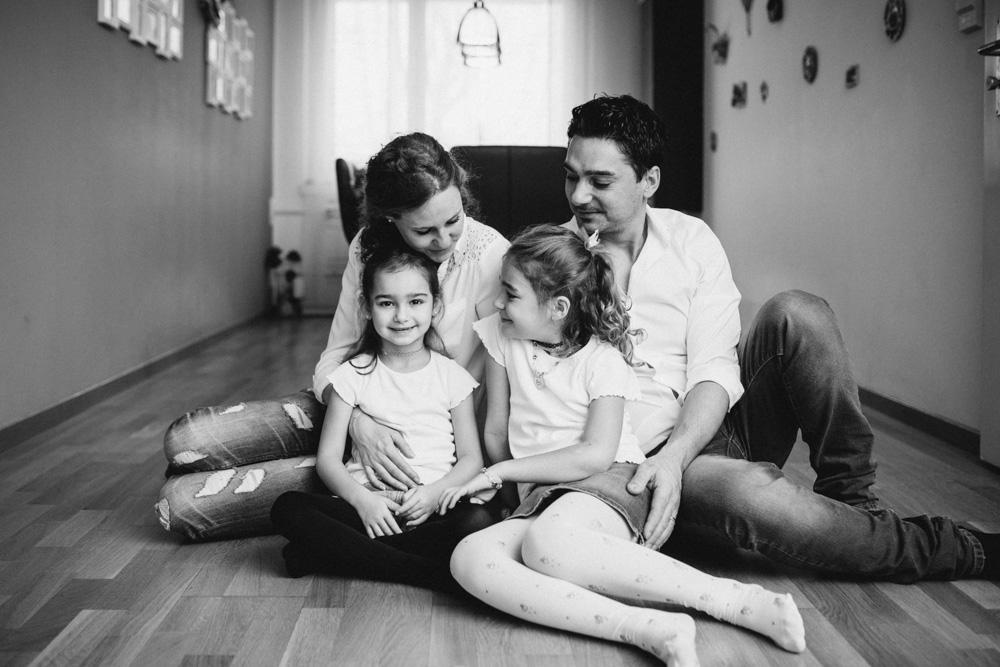 Familienfotos zu Hause Zürich
