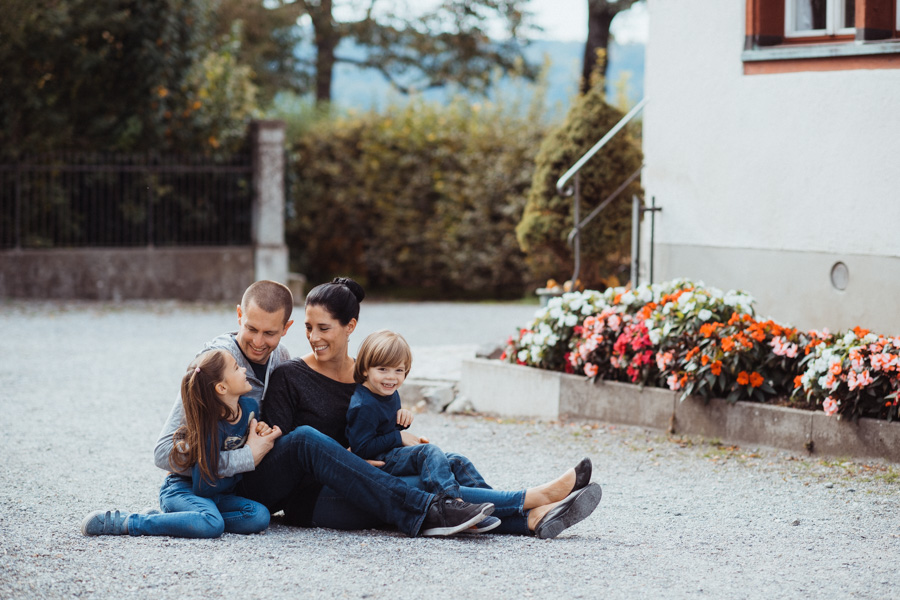 Fotoshooting Familie Uster
