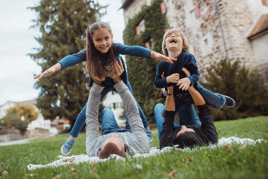 Fotoshooting Familie Greifensee