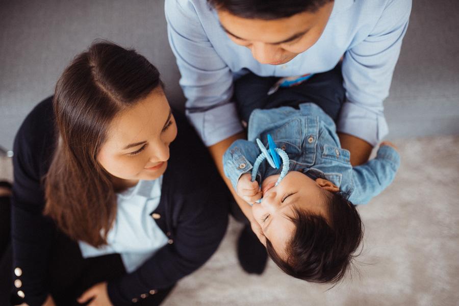 Baby Fotoshooting zu Hause Zürich