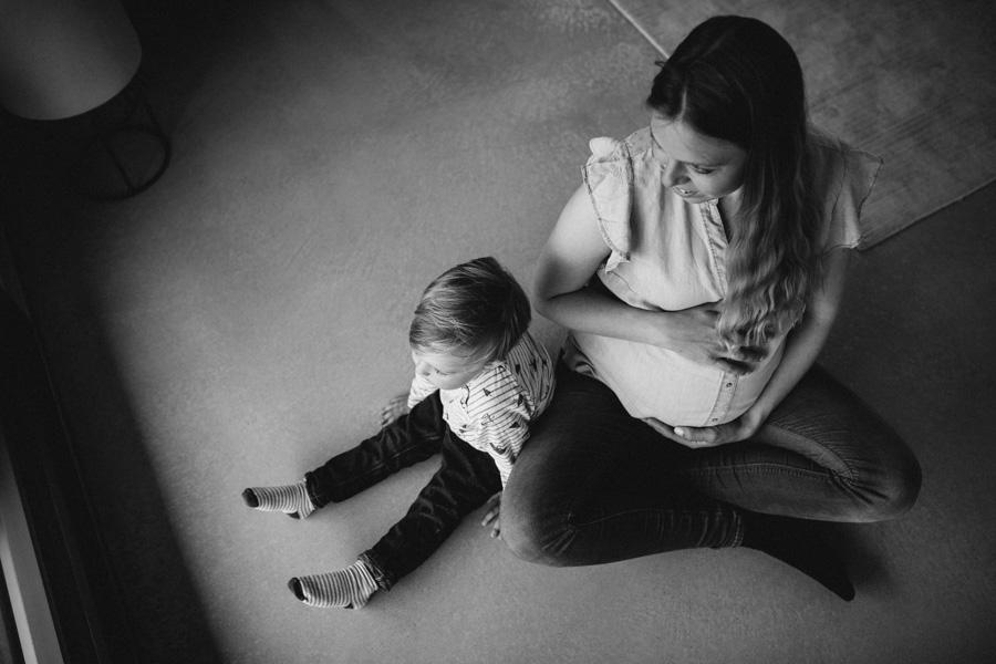 Babybauch-Fotoshooting in Zürich