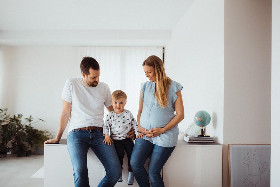Familienfotos Zürich Schwangerschaft
