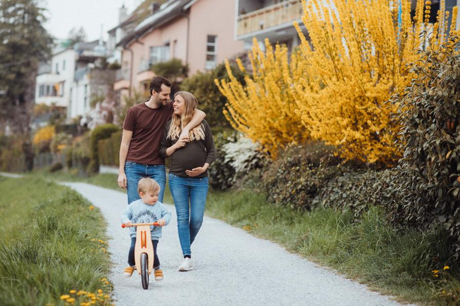 Familienfotos Schwangerschaft