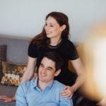 Fotoshooting Pärchen zu Hause